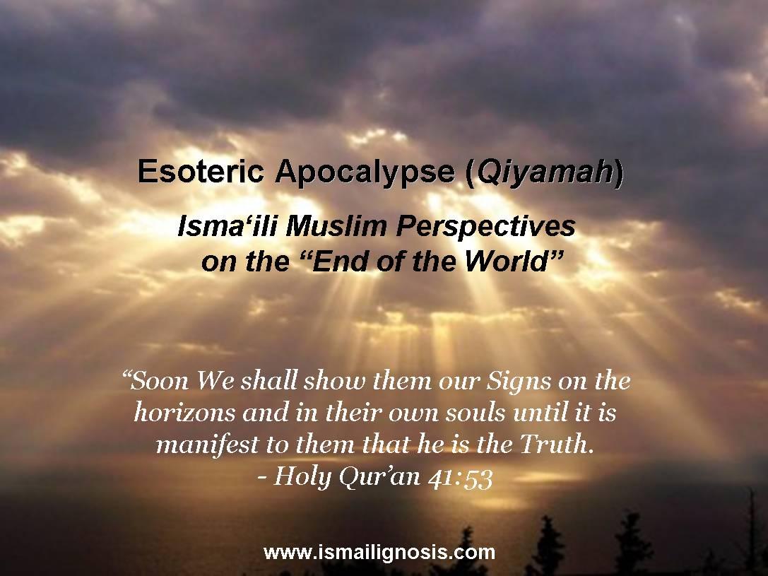 EsotericApocalypse – Ismaili Gnosis