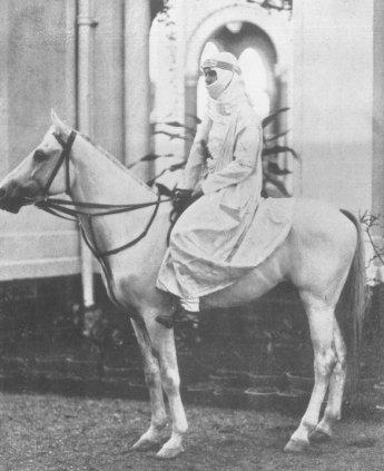 PAK on horse