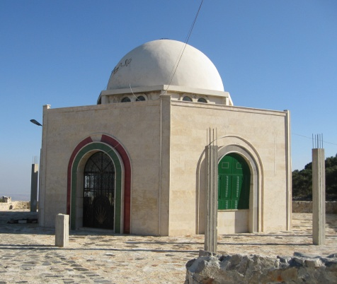 Jabal Mashad in Masyaf, Syria. Jabal Mashad is believed to hold the tombs of Imam Muhammad ibn Isma'il and the three Isma'ili Imams who succeeded him : Imam 'Abdullah ibn Muhammad al-Radi [Imam Wafi Ahmad], Imam Ahmad ibn 'Abdullah al-Wafi [Imam Taqi Muhammad], and Imam al-Husayn ibn Ahmad al-Taqi [Imam Radi al-Din 'Abdullah].