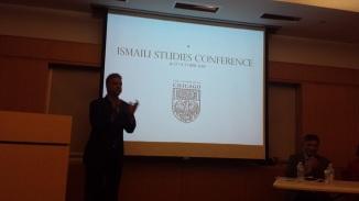 Shiraz Hajiani at the 2014 Ismaili  Studies Conference