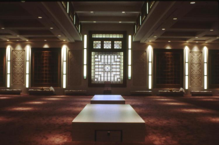 The prayer hall of Burnaby Lake Jamatkhana. Source: IsmailiMail