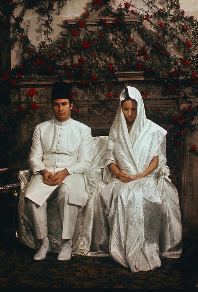The Aga Khan and Begum Salima