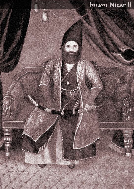 Portrait of Imam Shah Nizar from his Mausoleum. Image Courtesy of The Essential Ismaili