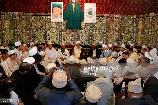 Sufi Muslim gathering