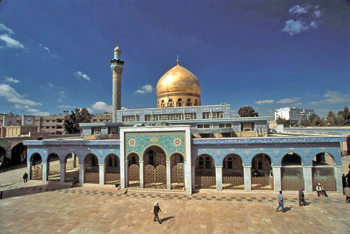 Hazrat Zaynab's Shrine in Damascus